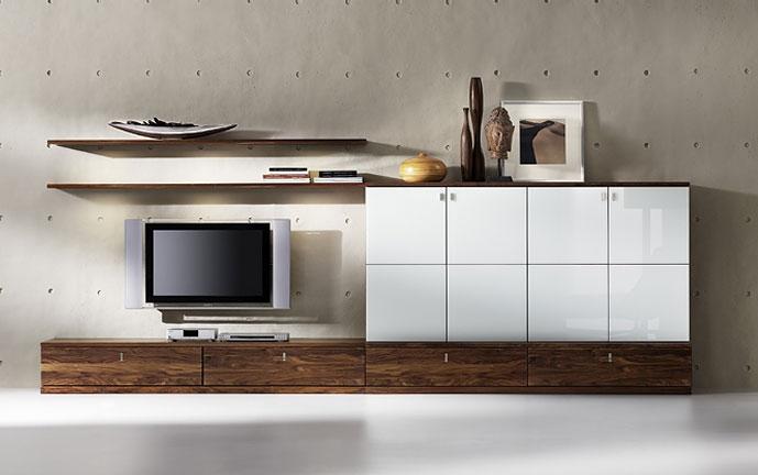 team 7 m bel bei wohnen leben fleischmann. Black Bedroom Furniture Sets. Home Design Ideas